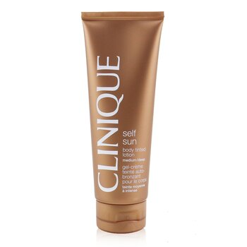 Clinique Self-Sun Losion Tubuh Berwarna - Medium/ Deep  125ml/4.2oz