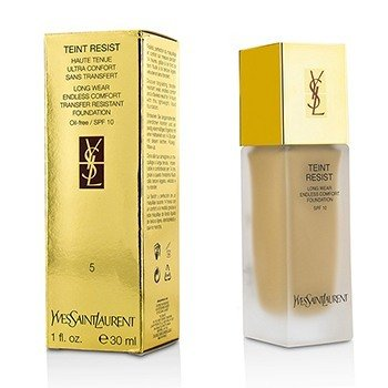 Yves Saint Laurent Teint Resist Long Wear Transfer Resistant Base MaquillajeSPF10 ( Oil Free ) - #05 Peach  30ml/1oz