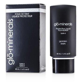 GloMinerals GloProtective Base Maquillaje Libre Aceites Acabado Satinado - Golden Dark  40ml/1.4oz