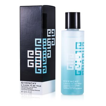 2 Clean To Be True Intense & Waterproof Dual-Phase Eye Makeup Remover  120ml/4oz