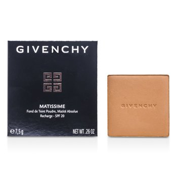 Givenchy Matissime Absolute Polvos Base Maquillaje acabado Mate SPF 20 Recambio - # 17 Mat Rosy Beige  7.5g/0.26oz