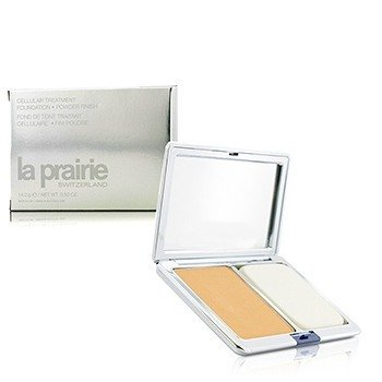 La Prairie Cellulær Behandling Fdt Pudderfinish - Sunlit Beige ( Ny Paking )  14.2g/0.5oz