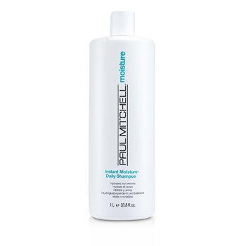 Paul Mitchell Moisture Instant Moisture Daily Shampoo (Hydrates and Revives)  1000ml/33.8oz