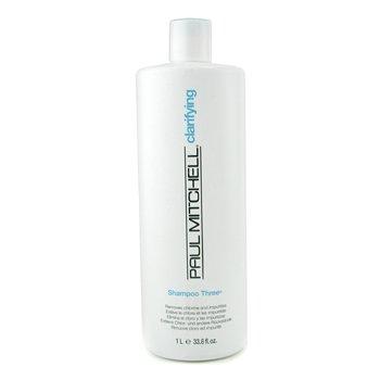 Paul Mitchell Clarifying Shampoo Three (Removes Chlorine and Impurities)  1000ml/33.8oz