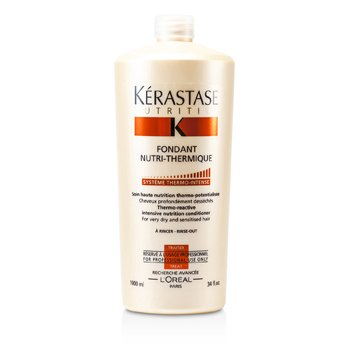 Kerastase Nutritive Fondant Nutri-Thermique Thermo-Reactive Intensive Nutrition Conditioner (For Very Dry and Sensitised Hair)  1000ml/34oz