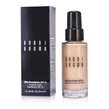Bobbi Brown Skin Foundation SPF 15 - Alas Bedak - # 0 Porcelain  30ml/1oz