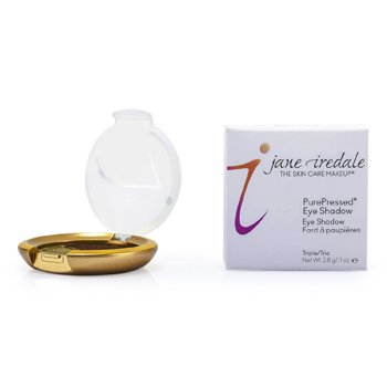 Jane Iredale PurePressed Triple Eye Shadow - Khaki Kraze  2.8g/0.1oz