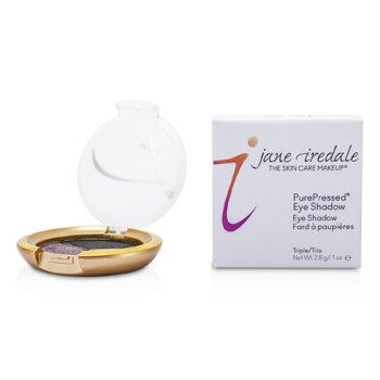 Jane Iredale Trio oční stíny PurePressed Triple Eye Shadow - Silver Lining  2.8g/0.1oz