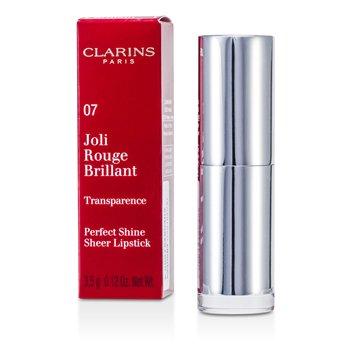 Clarins Joli Rouge Brillant ( Perfect Shine Sheer Batom ) - # 07 Raspberry  3.5g/0.12oz