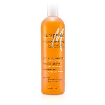 Therapy-g Nawilżający szampon do włosów suchych, zniszczonych i poddawanach zabiegom chemicznym SuperMoistureShine Moisturizing Shampoo (For Dry, Damaged or Chemically Treated Hair)  350ml/12oz