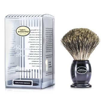 Pure Badger Shaving Brush - Pure Black  1pc