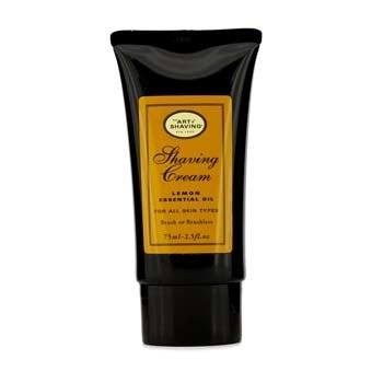 Shaving Cream - Lemon Essential Oil 75ml/2.5oz