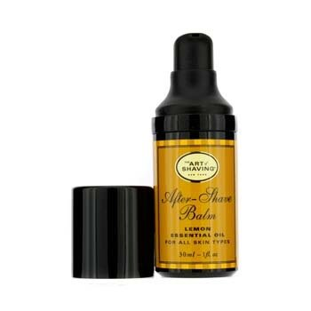 The Art Of Shaving Loção após barba - Limão óleo essencial ( tamanho viagem, Pump,p/ todos os tipos de pele )  30ml/1oz