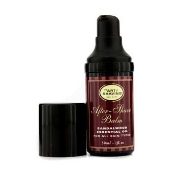 The Art Of Shaving After Shave Balm - Sandalwood Essential Oil (Travel Size, Pump, For All Skin Types)  30ml/1oz