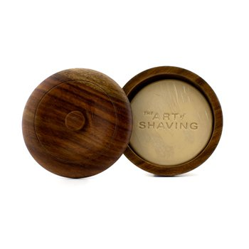 The Art Of Shaving Мило для Гоління з мильніцею - Життєва Олія Лемон (Для Всіх Типів Шкіри)  95g/3.4oz