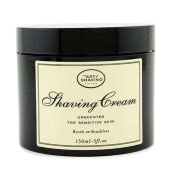Shaving Cream - Unscented (For Sensitive Skin)  150ml/5oz