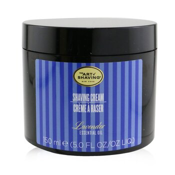 The Art Of Shaving Crema Afeitado - Aceite Esencial de Lavanda ( Piel Sensible)  150g/5.3oz