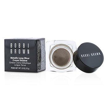 Bobbi Brown Sombra em Creme Metallic Long Wear - # 04 Brown Metal  3.5g/0.12oz