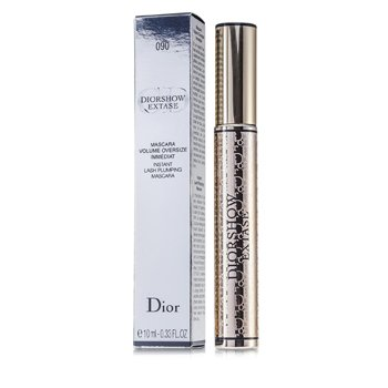 Christian Dior DiorShow Extase Flash Máscara Volumen - # 090 Black Extase  10ml/0.33oz