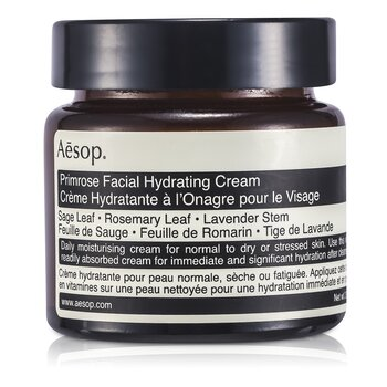 Primrose Facial Hydrating Cream  60ml/2oz