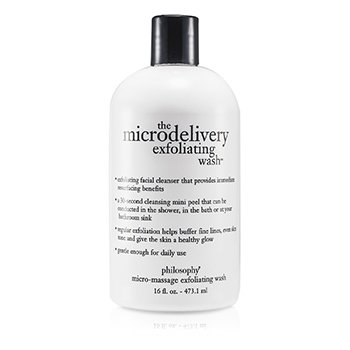 Philosophy The Microdelivery Micro-Massage Exfoliating Wash  473.1ml/16oz