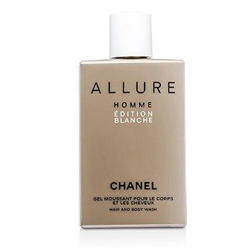 香奈儿  Allure Homme Edition Blanche Hair & Body Wash (Made in USA)  200ml/6.8oz