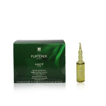 Karite Nutri Nourishing Ritual Intense Nourishing Oil - Very Dry Hair (Box Slightly Damaged)  24x10ml/0.33oz