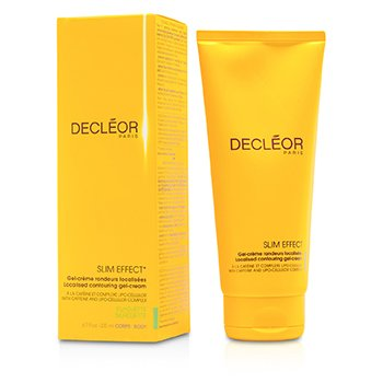 Decleor Slim Effect Localised alakformáló krémzselé  200ml/6.7oz