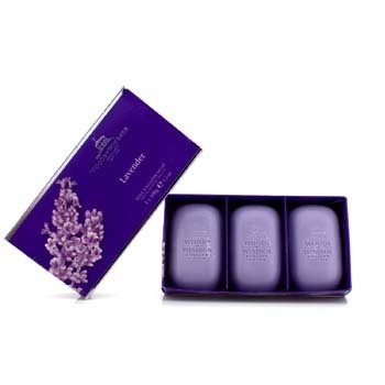 Woods Of Windsor Lavender Fine English Soap  3x100g/3.5oz