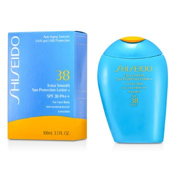 Extra Smooth Sun Protection Lotion N SPF 38 (For Face & Body)  100ml/3.3oz