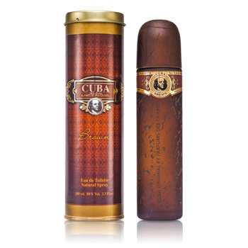 Cuba Brown Eau De Toilette Spray 100ml/3.3oz