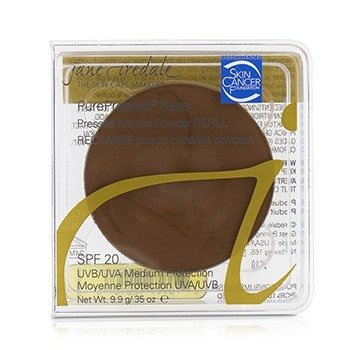 Jane Iredale PurePressed Base Pressed Mineral Powder Refill SPF 20 - Chestnut  9.9g/0.35oz