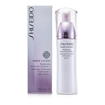 Shiseido White Lucent Brightening Protective Emulsion W SPF 15  75ml/2.5oz