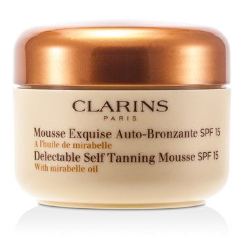 Delectable Self Tanning Mousse with Mirabelle Oil SPF 15  125ml/4.2oz
