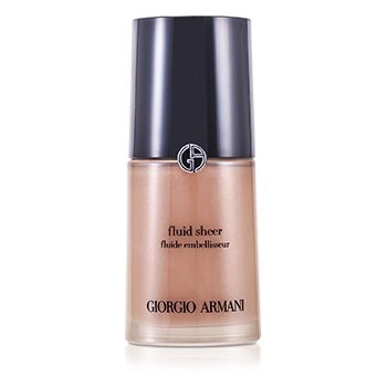 Giorgio Armani Base Fluid Sheer - # 2 Shimmering Beige  30ml/1oz