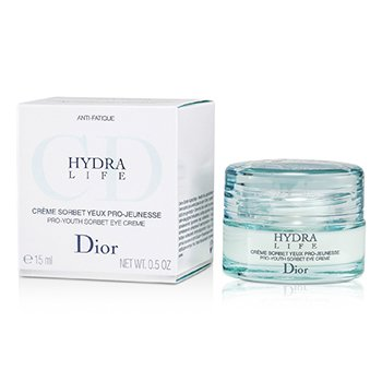 Christian Dior Creme Hydra Life Pro-Youth Sorbet Eye Creme  15ml/0.5oz