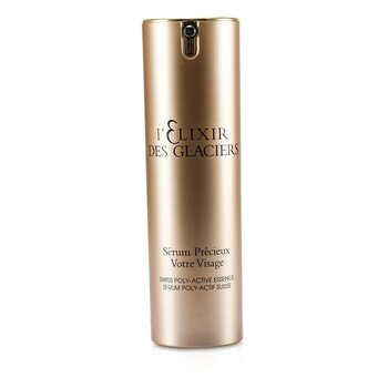 Elixir Des Glaciers Serum Precieux Votre Visage - Swiss Poly-Active Essence (New Packing)  30ml/1oz