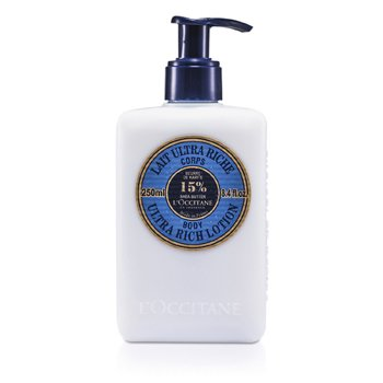 L'Occitane Shea Butter Ultra Rich Loci�n Corporal ultra Rica Manteca Shea  250ml/8.4oz