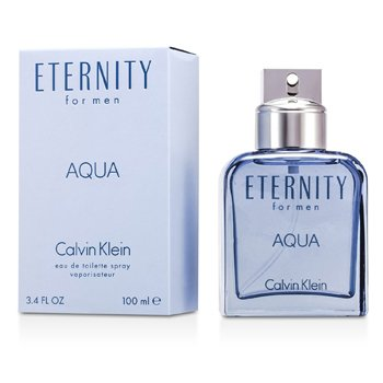 Eternity Aqua Eau De Toilette Spray  100ml/3.4oz