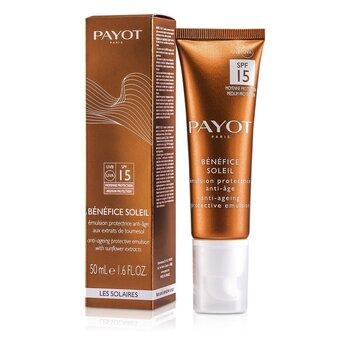 Benefice Soleil Anti-Aging Protective Emulsion SPF 15 UVA/UVB  50ml/1.6oz