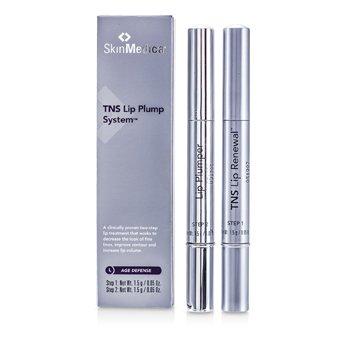 Skin Medica TNS LipPlump System: Lip Renewal 1.5g/0.05oz + Lip Plumper 1.5g/0.05oz  2pcs