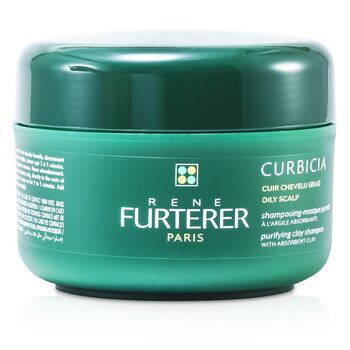 Curbicia Purifying Clay Shampoo (Oily Scalp)  200ml/7.2oz