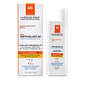 Anthelios 60 Ultra Light Sunscreen Fluid (Normal/ Combination Skin) 50ml/1.7oz