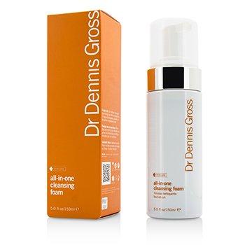 Dr Dennis Gross All-In-One Cleansing Foam  150ml/5oz