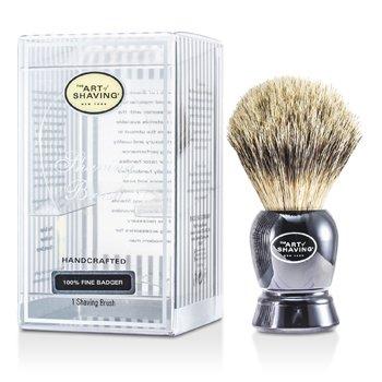 Fine Badger Shaving Brush - Black  1pc