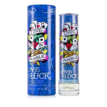 Ed Hardy Love & Luck Eau De Toilette Spray  100ml/3.4oz