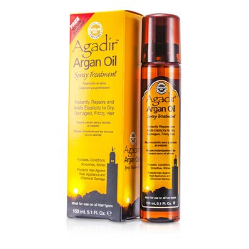 Agadir Argan Oil Hydrates, Conditions, Smoothes, Shine Spray Treatment (For All Hair Types)  150ml/5.1oz
