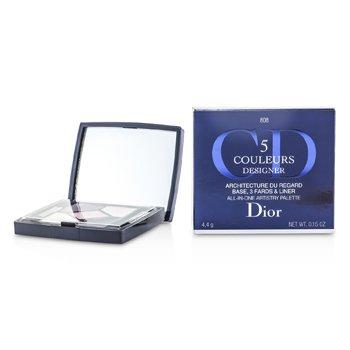 Christian Dior 5 Color Designer All In One Artistry Palette - No. 808 Pink Design  6ml/0.19oz