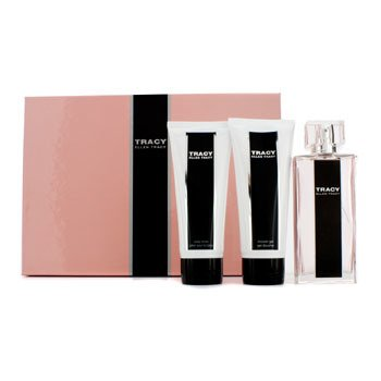 Tracy Coffret: Eau De Parfum Spray 75ml/2.5oz + Loción Corporal 100ml/3.4oz + Gel deDucha 100ml/3.4oz  3pcs