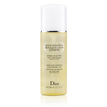 Christian Dior Aceite Limpiador Suave Instantáneo  200ml/6.7oz